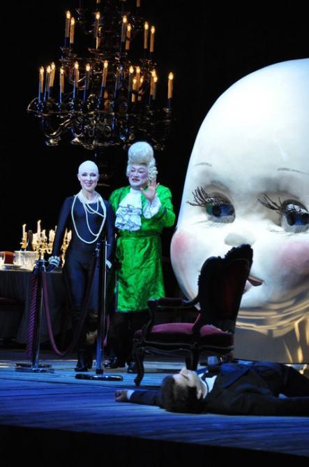 Spalanzani (Yvan Rebeyrol) Les Contes d'Hoffmann. Opéra de Massy 2011